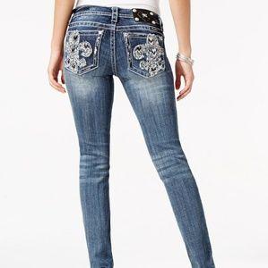 MISS ME Signature Skinny Jean Women's Size 31 Colo